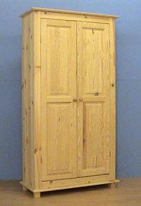2-deurskast NORMA 2-paneelsdeuren