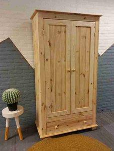 2-deurskast  met lade (kies uw deur) 100cm breed