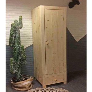 1-deurskast Ameland met lade 54 of 59,5cm breed