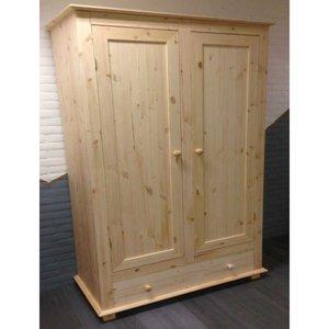 2-deurskast oversteek met lade (kies uw deur) 120cm breed