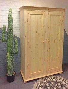 2-deurskast oversteek (kies uw deur) 120cm breed