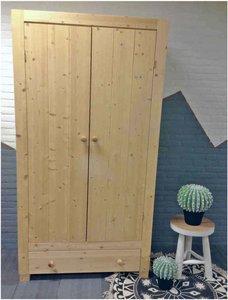 2-deurskast Ameland met lade 112cm breed