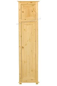 1-deurskast met bovenkastje (kies uw deur) 60 of 66 cm breed