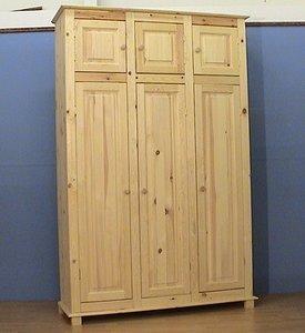 3-deurskast oversteek met bovenkastjes (kies uw deur) 152cm breed