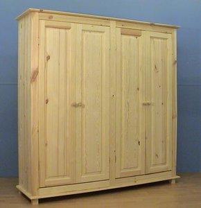 4-deurskast oversteek (kies uw deur) 185 of 210cm breed